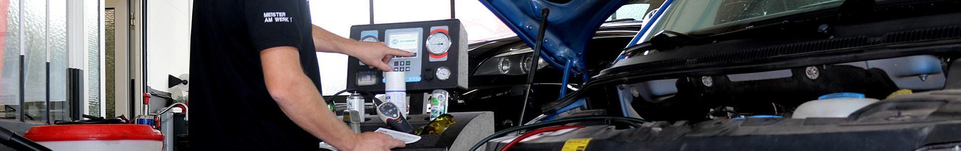 Klimaservice bei Autoservice Keck - bewahren Sie einen kühlen Kopf!