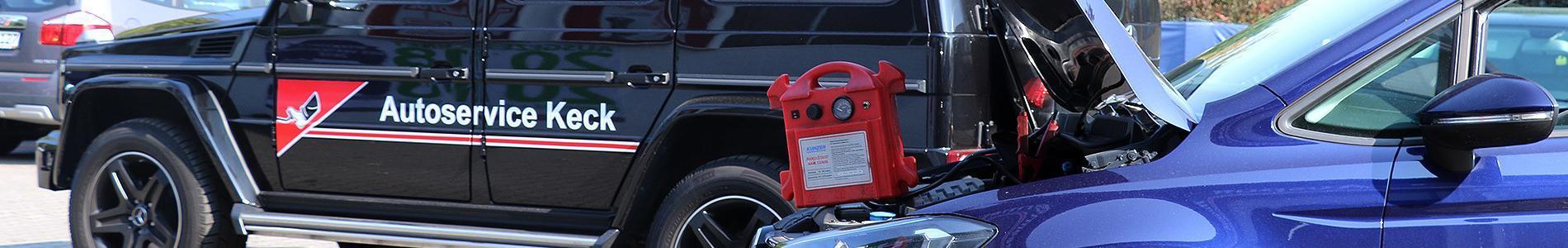 Mobilitätsgarantie von Autoservice Keck
