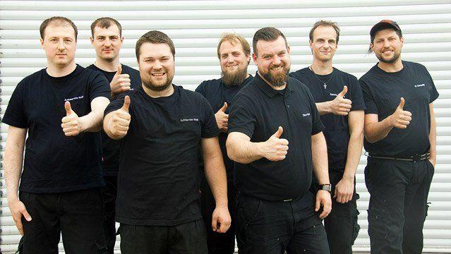 Team Braunschweig von Autoservice Keck